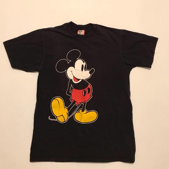 fbf50fa1b Disney Shirts | Vtg 90s Walt World Mickey Mouse T Shirt L | Poshmark